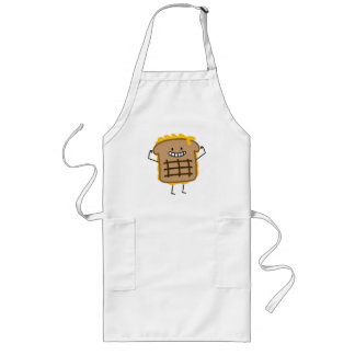 Grilled Cheese Sandwich Cheddar Toasted Bread Long Apron