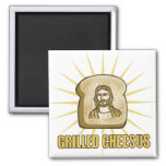 Grilled Cheesus magnet