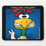 """""""Grilled Chicken"""" Mouse Mat"""