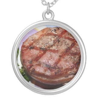 Grilled Filet Mignon Custom Necklace