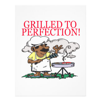 Grilled To Perfection 21.5 Cm X 28 Cm Flyer