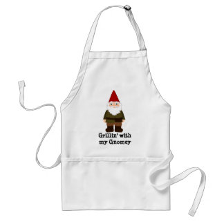 Grillin' with my Gnomey Standard Apron