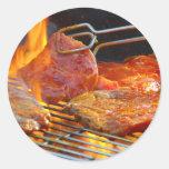 grilling sticker
