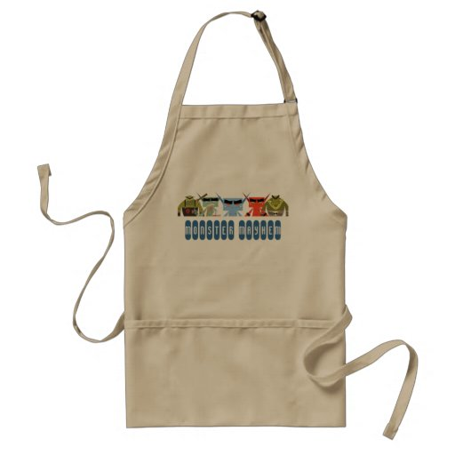 grilling with monster mayhem aprons