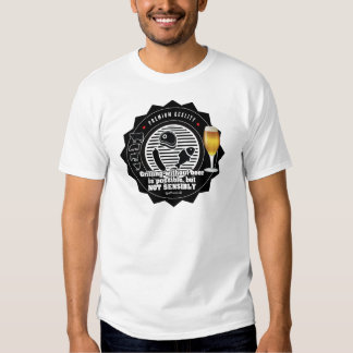 Grilling without beer  is possible, but... shirts