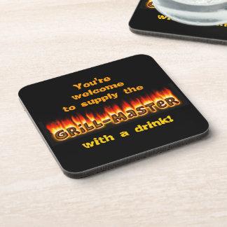 Grillmaster Beverage Coasters
