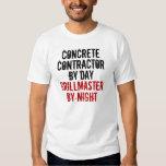 Grillmaster Concrete Contractor Tee Shirt