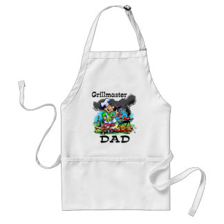 Grillmaster Dad BBQ Apron
