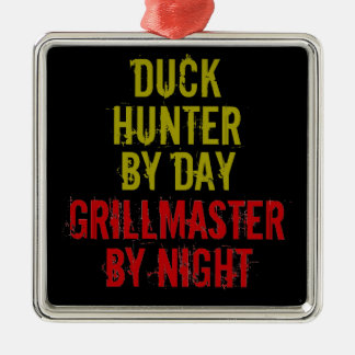 Grillmaster Duck Hunter Christmas Ornament