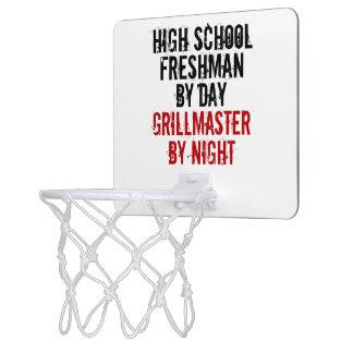 Grillmaster High School Freshman Mini Basketball Hoop