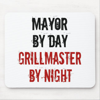 Grillmaster Mayor Mouse Pad