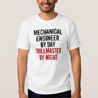 Grillmaster Mechanical Engineer Tee Shirt