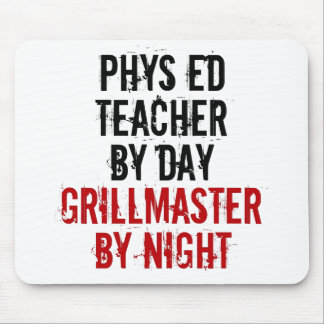 Grillmaster Physical Education Teacher Mouse Mat