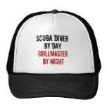 Grillmaster Scuba Diver Mesh Hat