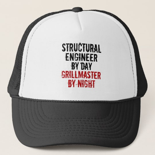 Grillmaster Structural Engineer Cap