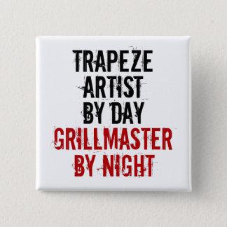 Grillmaster Trapeze Artist 15 Cm Square Badge