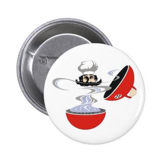 Grillmeister Pinback Button