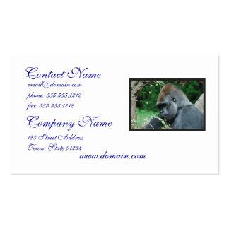 Grim Gorilla Business Card