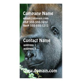 Grim Gorilla Business Card Template