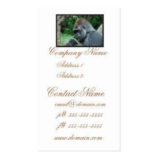 Grim Gorilla Pack Of Standard Business Cards