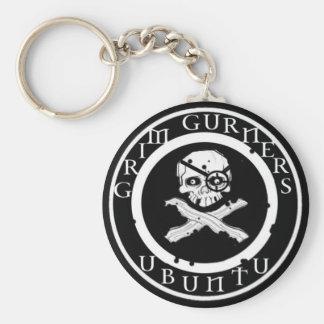 Grim Gurner Key ring Basic Round Button Key Ring
