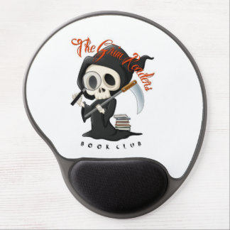 Grim Reader Gel Mousepad Gel Mouse Mat