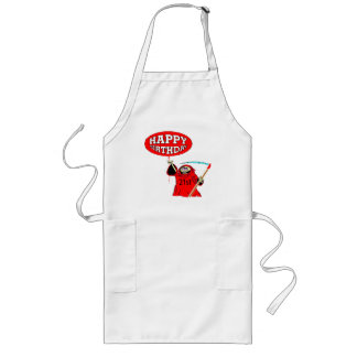 Grim Reaper 21st Birthday Gifts Aprons