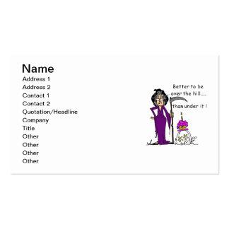 Grim Reaper Birthday Humor Pack Of Standard Business Cards