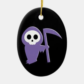 Grim Reaper Christmas Ornament