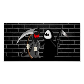 Grim Reaper Death Framed Print