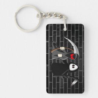 Grim Reaper Death Keychain Acrylic Key Chain