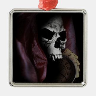 Grim Reaper Death Skeleton Skull Christmas Ornament