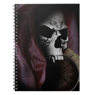 Grim Reaper Death Skeleton Skull Notebook