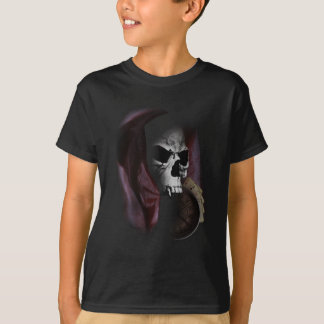 Grim Reaper Death Skeleton Skull T-Shirt