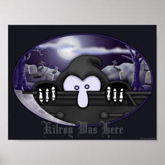 Grim Reaper Kilroy Poster 1