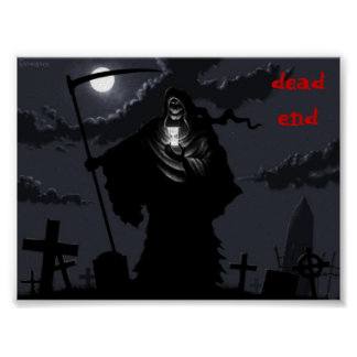 grim-reaper-original, dead end poster