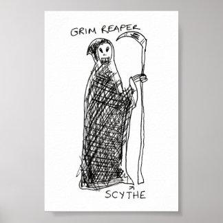 Grim Reaper Posters