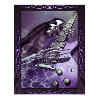 Grim Reaper's Guitar Photo Paper (11 x 14)