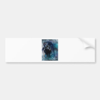 Grim Reaper Skeleton Bumper Sticker