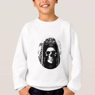 Grim Reaper Skull Design Sweatshirt