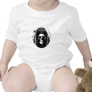 Grim Reaper Skull Design T-shirt