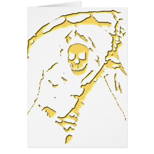 Grim Reaper T-Shirts and Gifts! Greeting Cards