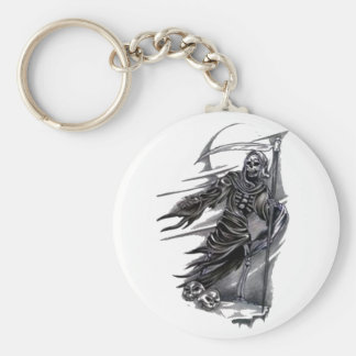 Grim Reaper Taking Souls Keychains