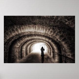 Grim Reaper Tunnel Poster