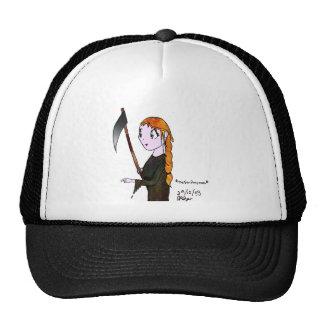 Grim Reaperess Trucker Hat