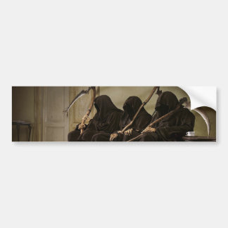 Grim Reapers Waiting For You Bumper Sticker