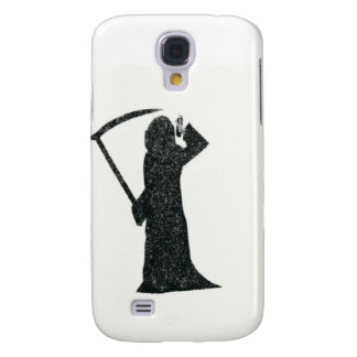 Grim Reeper on Cell Phone Samsung Galaxy S4 Covers