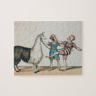 Grimaldi and the Alpaca, in the Popular Pantomime Jigsaw Puzzle