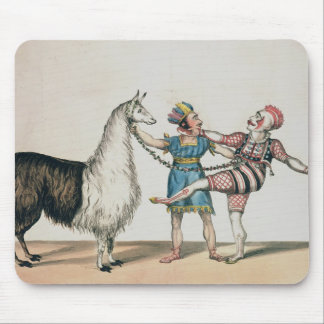 Grimaldi and the Alpaca, in the Popular Pantomime Mouse Mat
