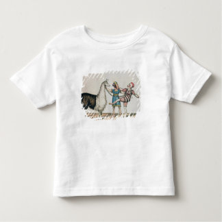 Grimaldi and the Alpaca, in the Popular Pantomime Toddler T-Shirt